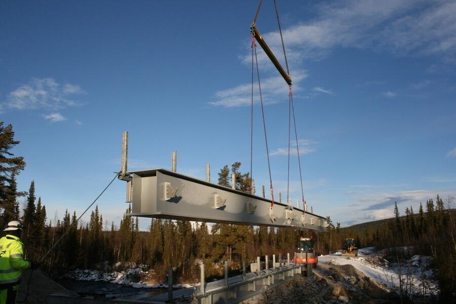 Bro över Raktenjåkkå